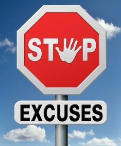 se trouver des excuses