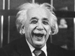 Einstein ne se prenant pas au sérieux
