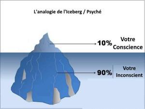 iceberg et psyche